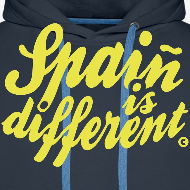 Spain is different / Special custom colours