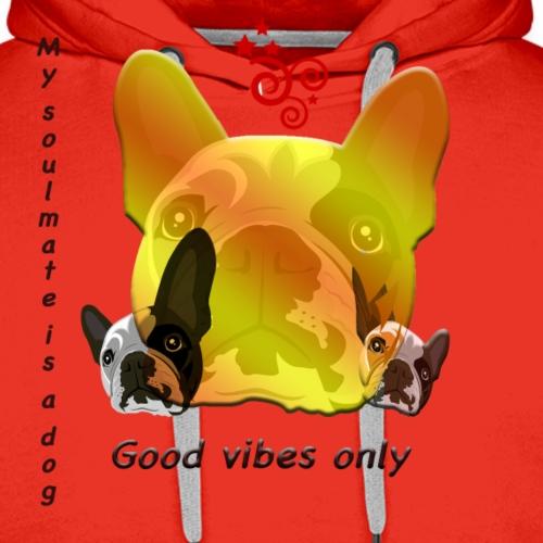 Vibration - Sweat-shirt à capuche Premium pour hommes