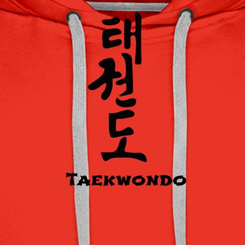 Taekwondo - Mannen Premium hoodie