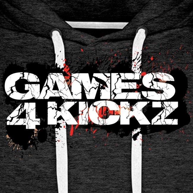 Games4Kickz Logo Splattered Background