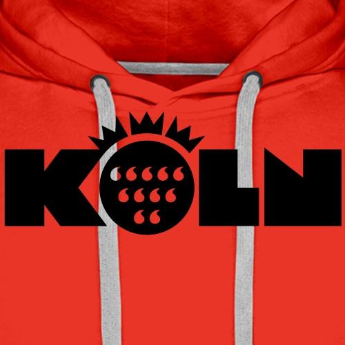 Köln Wappen modern - Männer Premium Hoodie