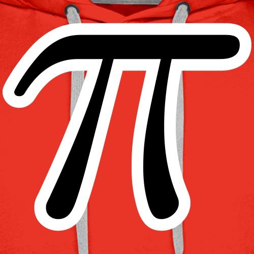 Math constant pi LaTeX - Men's Premium Hoodie