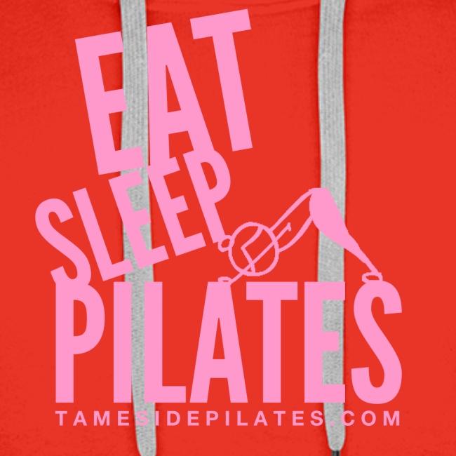 eat sleep pilates 2019 pink