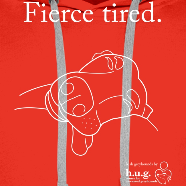 Fierce Tired Greyhound