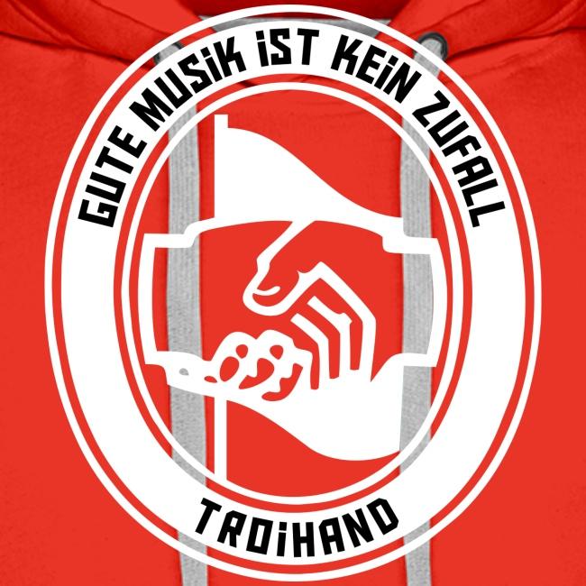 Logo Troihand invertiert