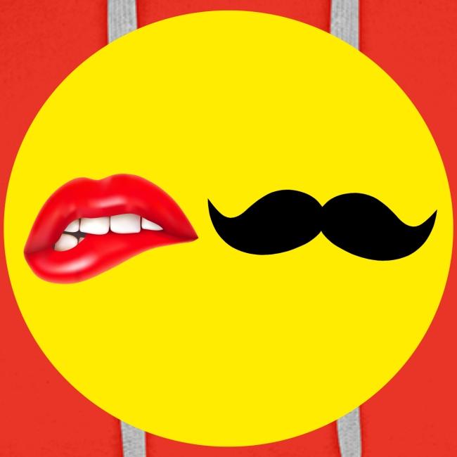 Mustache Lips