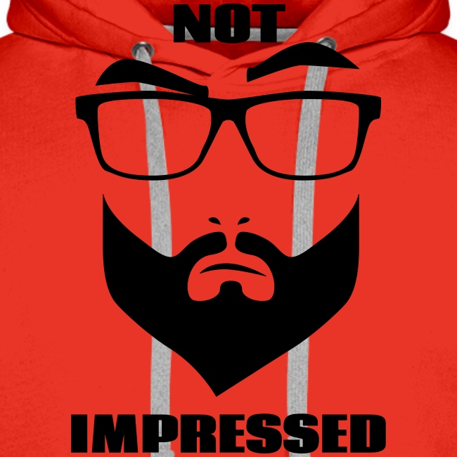 not impressed - homme