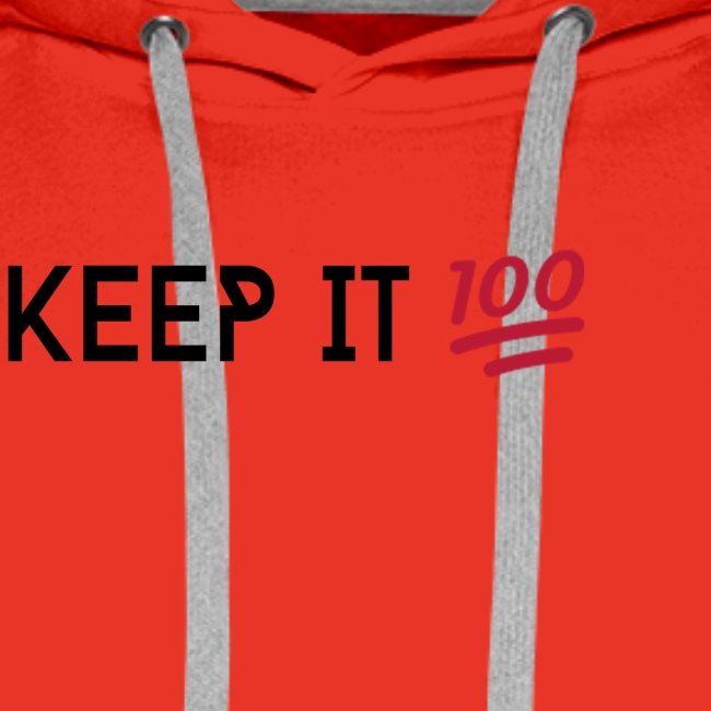 KEEP IT 100 ZWART png