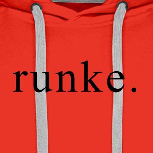 Runke - Premium hettegenser for menn