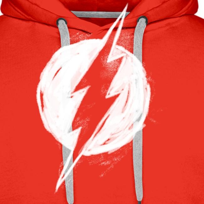 Justice League Flash Logo white
