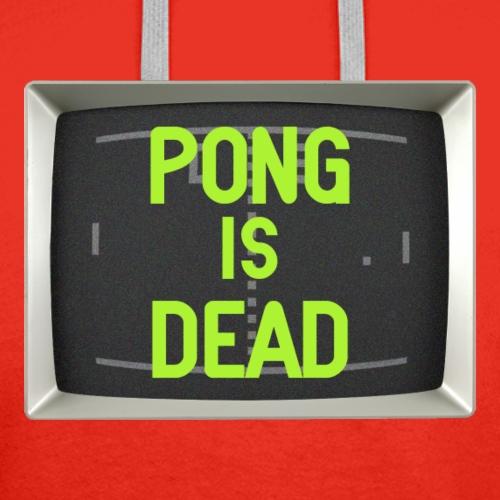 pong is dead - Men's Premium Hoodie