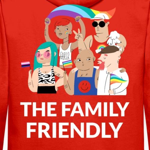 Día del Orgullo LGBTI | Family Friendly - Sudadera con capucha premium para hombre