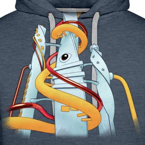 Tubular City - Sweat-shirt à capuche Premium pour hommes