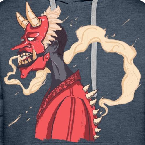 Kabuki monster - Sweat-shirt à capuche Premium pour hommes