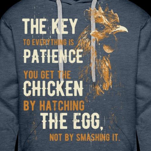 Das Huhn Shirt - Männer Premium Hoodie