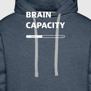Brain capacity loading - Men's Premium Hoodie