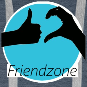 friend zone - Men's Premium Hoodie