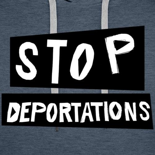 Stop deportations! - Premiumluvtröja herr