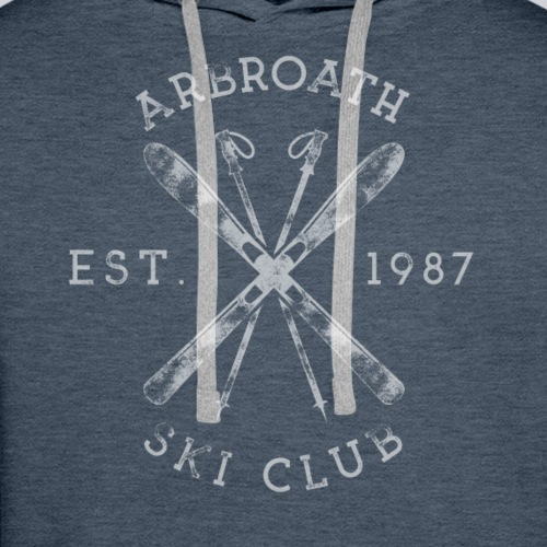 Arbroath Ski Club light image - Men's Premium Hoodie