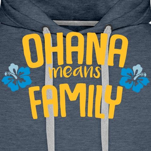 Ohana - Sweat-shirt à capuche Premium pour hommes