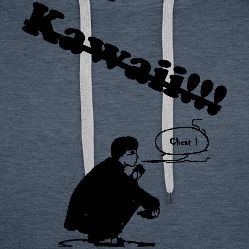 Kawaii - Sweat-shirt à capuche Premium pour hommes