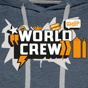Graffiti-World-Crew - Men's Premium Hoodie