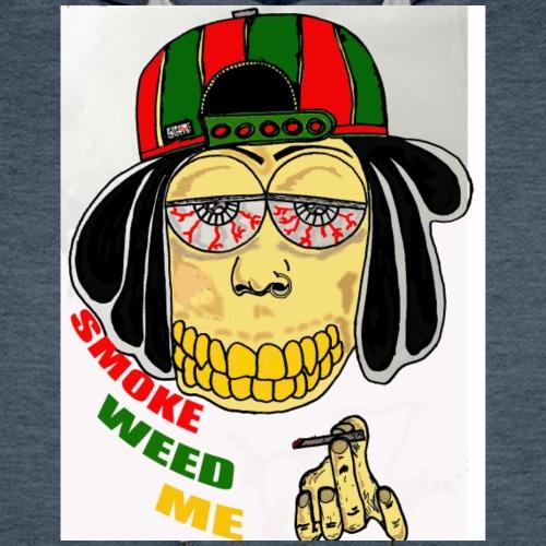 smoke weed me - Bluza męska Premium z kapturem