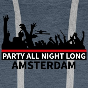 AMSTERDAM Party - Sweat-shirt à capuche Premium pour hommes
