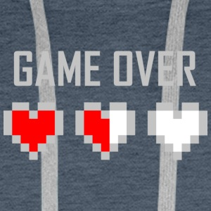 game_over_tshirt_vector_by_warumono1989-d7tn9e8 - Bluza męska Premium z kapturem