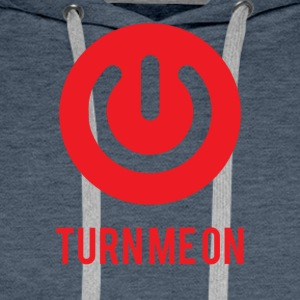 Nerd / Nerds: Turn Me On - Sweat-shirt à capuche Premium pour hommes