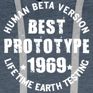 1969 - The birth year of legendary prototypes - Men's Premium Hoodie