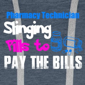 Pharmacy Technician / pharmaceutique technique - Sweat-shirt à capuche Premium pour hommes