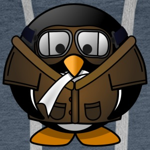 Penguin Aviator - Premium hettegenser for menn