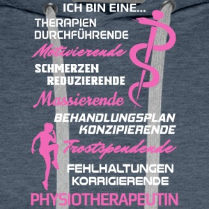 Physiotherapeutin/Physiotherapie/Physiotherapeut - Männer Premium Hoodie