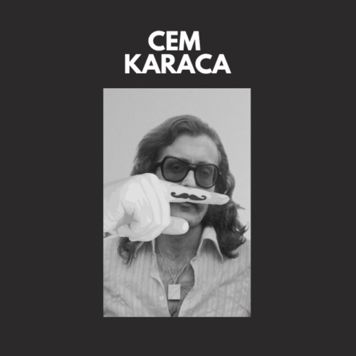 Cem Karaca - Fingerstache - Männer Premium Hoodie