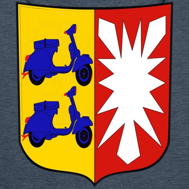 Franks Vespa Garage Wappen Schleswig Holstein Manner Premium