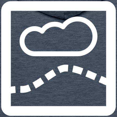 La Route du Thermique - Sweat-shirt à capuche Premium pour hommes