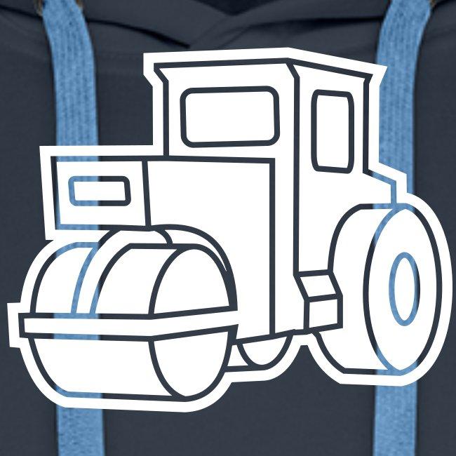 1 col - Dampfwalze Traktoren Steam-powered rollers