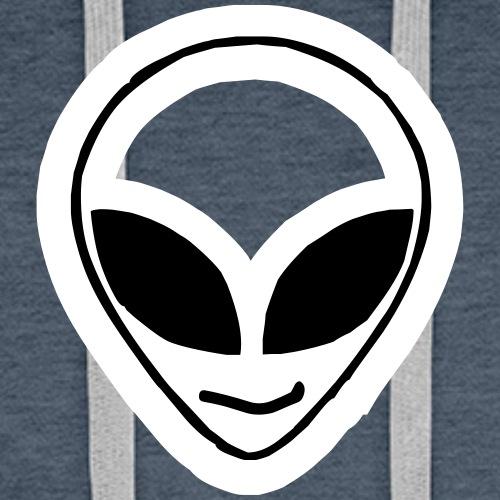 Alien mask - Men's Premium Hoodie