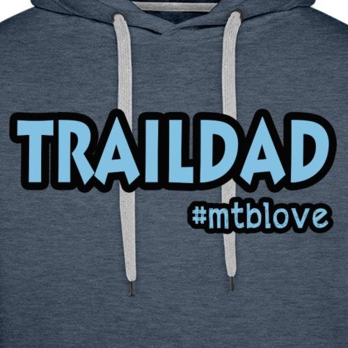 Traildad - Herre Premium hættetrøje