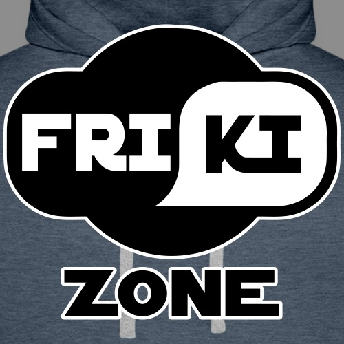 Friki Zone - Sudadera con capucha premium para hombre