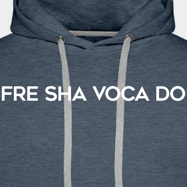 Fre Sha Voca Do White
