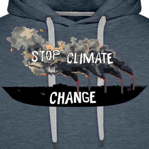 Stop climate change! - Men's Premium Hoodie