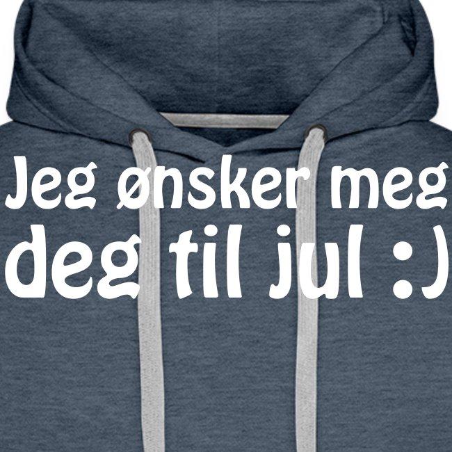Jeg ønsker meg deg til jul :)