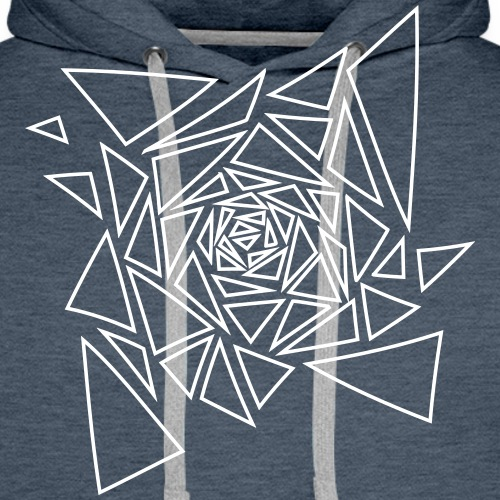 Motif Tribal - Sweat-shirt à capuche Premium pour hommes