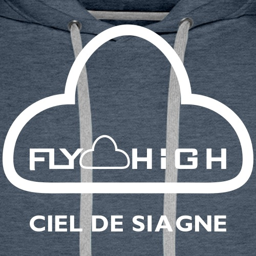 Ciel de siagne - Sweat-shirt à capuche Premium pour hommes