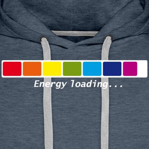 Energie Loading Chakras - Männer Premium Hoodie