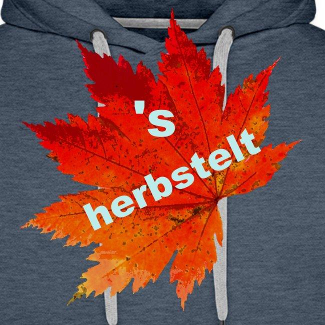 Es herbstelt - Herbst - Blätter