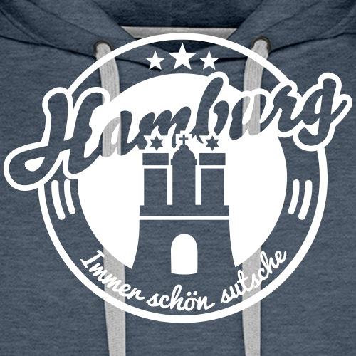 Hamburg - Männer Premium Hoodie
