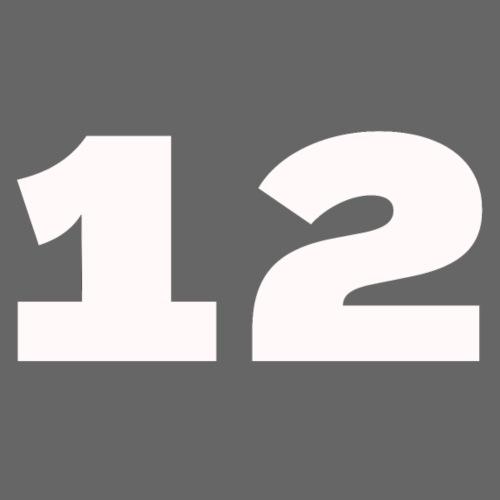 Het getal twaalf - Mannen Premium hoodie